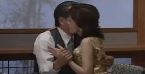 【沢口靖子】熱い抱擁シーン