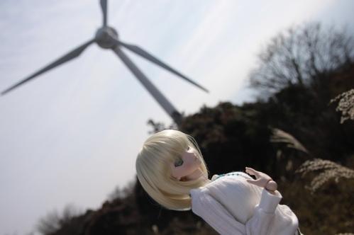 風車と一緒に2