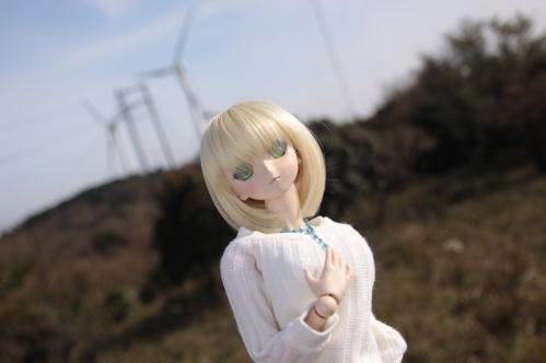 風車と一緒に3