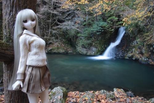 紅葉滝にて1