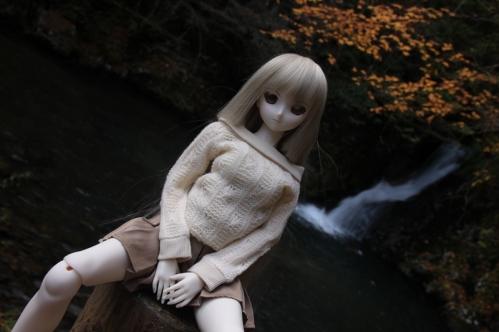 紅葉滝にて4
