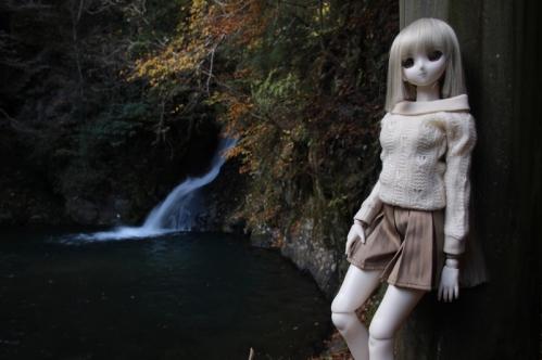 紅葉滝にて7