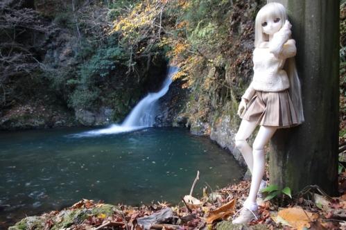 紅葉滝にて8