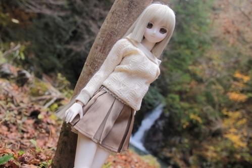 紅葉滝にて15