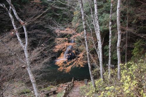 紅葉滝全景