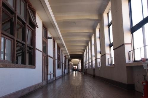 二階北廊下