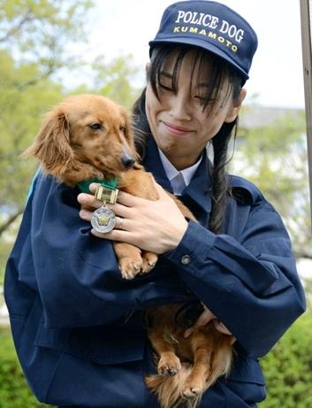 警察犬ベッキー