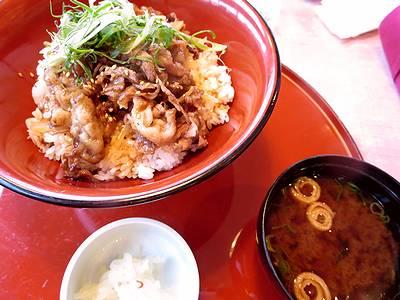神戸牛の焼肉丼1
