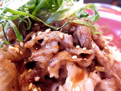 神戸牛の焼肉丼2