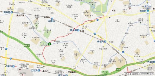 鎌倉街道 地図