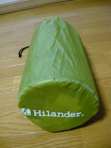 Hilanderインフレーターマット