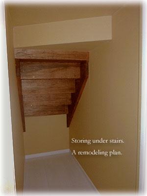 階段下収納庫改造計画