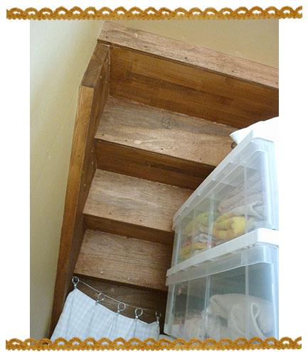 階段下のこどもクローゼット6