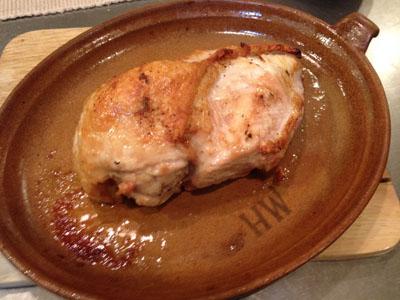 鶏はオーブンで行って