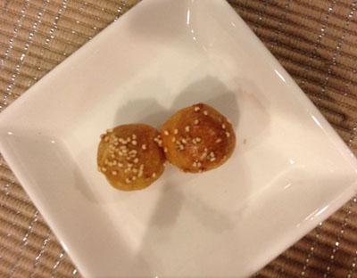 安納芋のクッキー