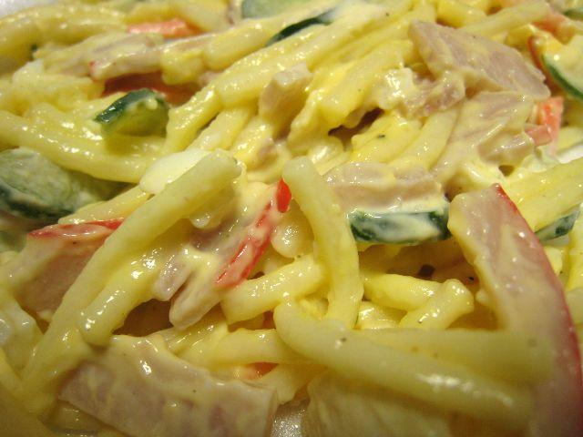 スパゲティサラダ