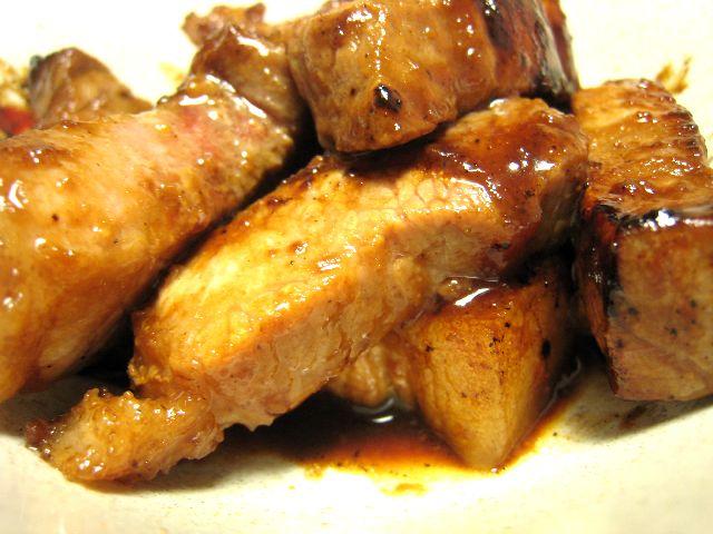 豚肉味噌炒め