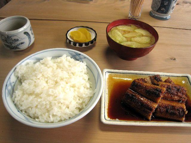 うなぎ定食(八千代)