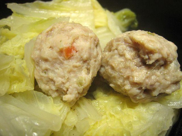 白菜肉団子