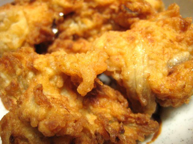 鶏つくね揚げ