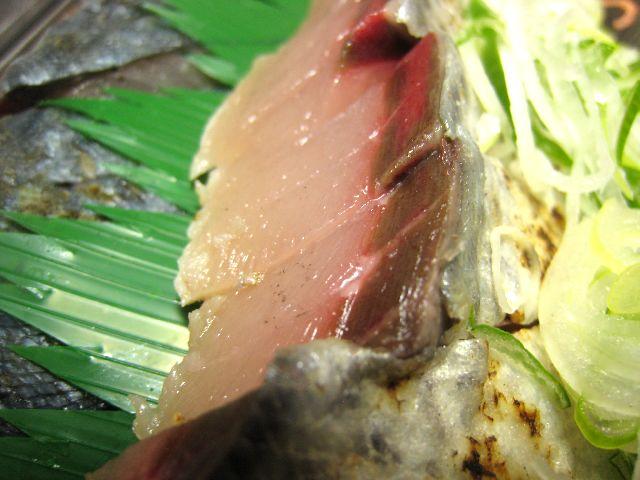 清水鯖たたき