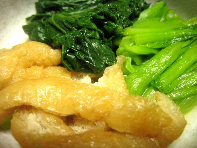 小松菜揚げ煮