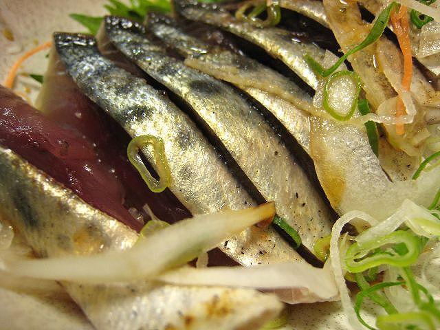 清水鯖タタキ