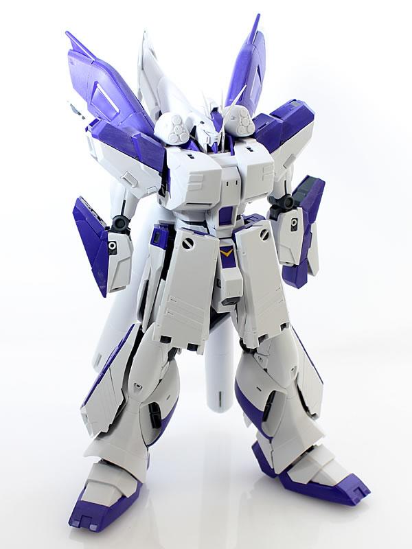 MG Hi-νガンダム Ver.Ka HWS 製作02
