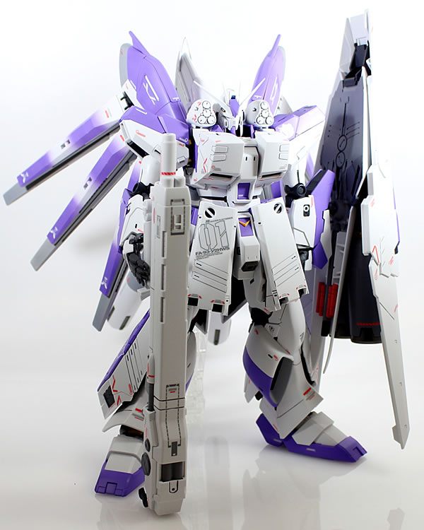 MG Hi-νガンダム Ver.Ka HWS 製作08