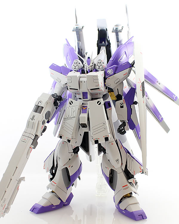 MG Hi-νガンダム Ver.Ka HWS 製作09