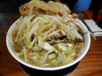 20101226ちぇりー亭ど根性こってり牛味野菜盛り-1