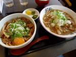 20110103ふく利ばら肉ラーメン+徳島丼