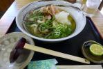 20110130黄金の穂山菜うどん