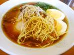 20110418ラーメン+ゆで玉子麺