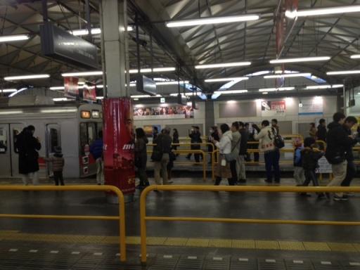 20130305東急渋谷駅