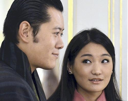 ブータン国王夫妻訪日