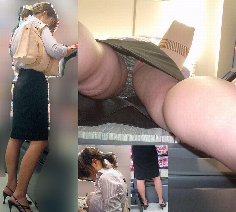 素人OLのエロハプニング画像 2 盗撮エロ画像スパイダー