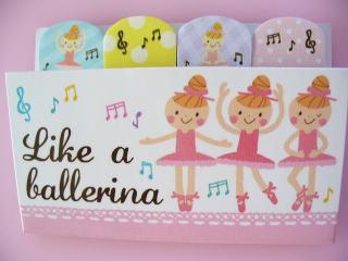 Like a ballerina 付箋