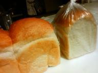 手ゴネ食パン