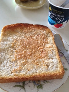 黄な粉トースト