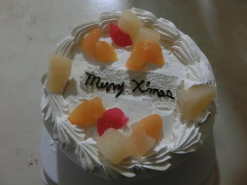 X'mas ケーキ