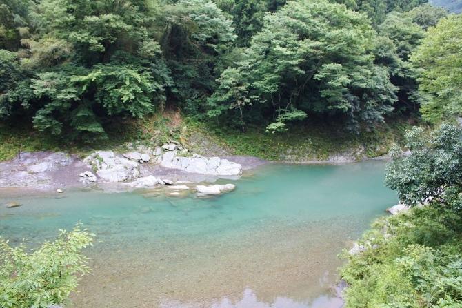 徳島県穴吹川