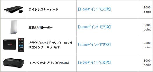 NTT交換商品2