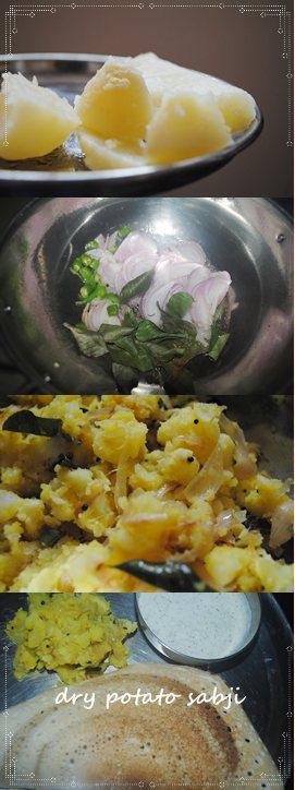 dry potato