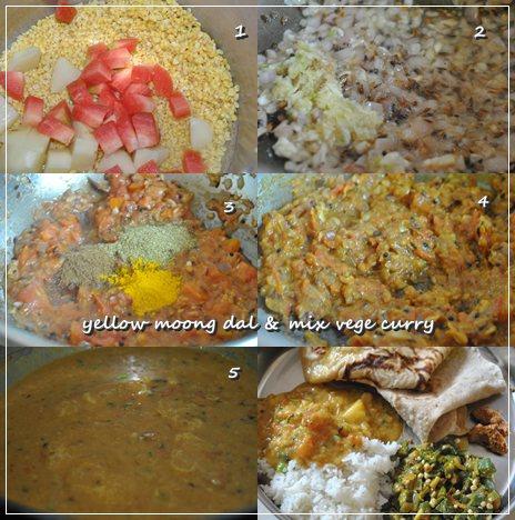 moong mix veg