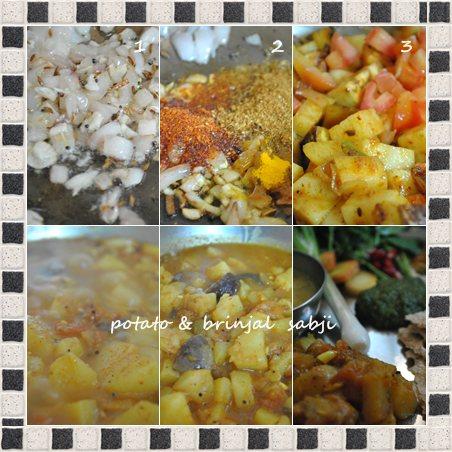 potato brinjal