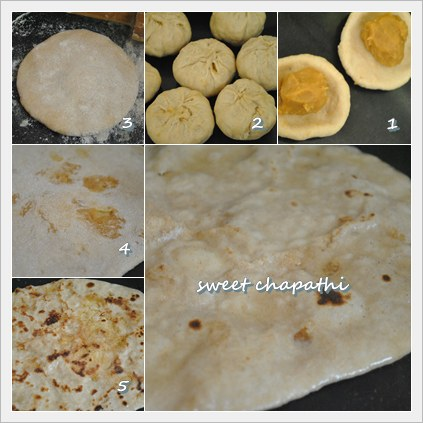 sweet chapathi