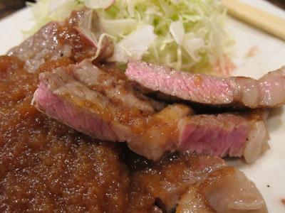 1208弁慶の網焼きステーキ