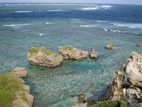 1210東平安名崎の海