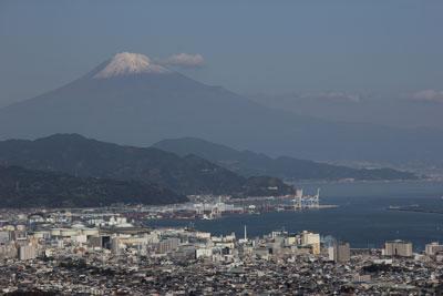 1211日本平からの富士山